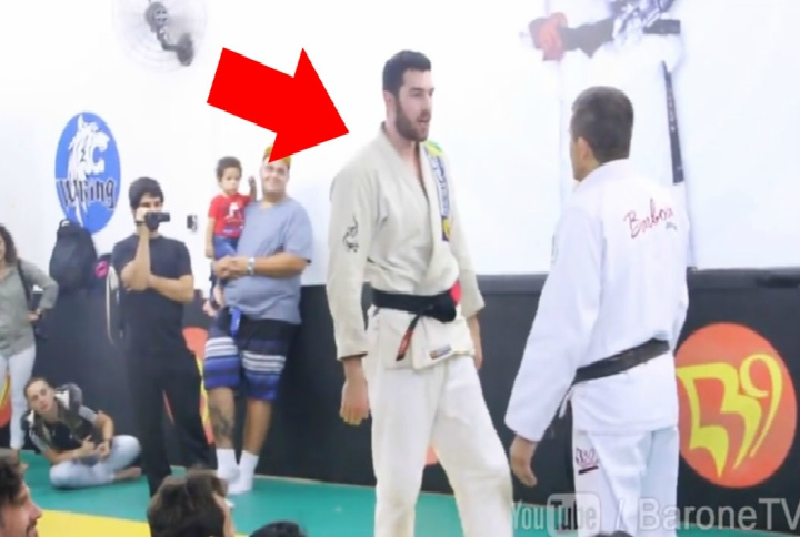 Prankster Challenges BJJ Instructor in Front Of Whole Class