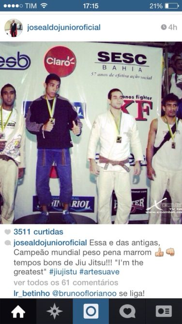 Jose Aldo Returns To Jiu-Jitsu Competition At Rio Masters Open