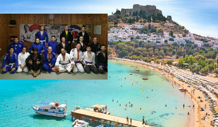 Training Report: Rhodes Knights BJJ, Rhodes, Greece