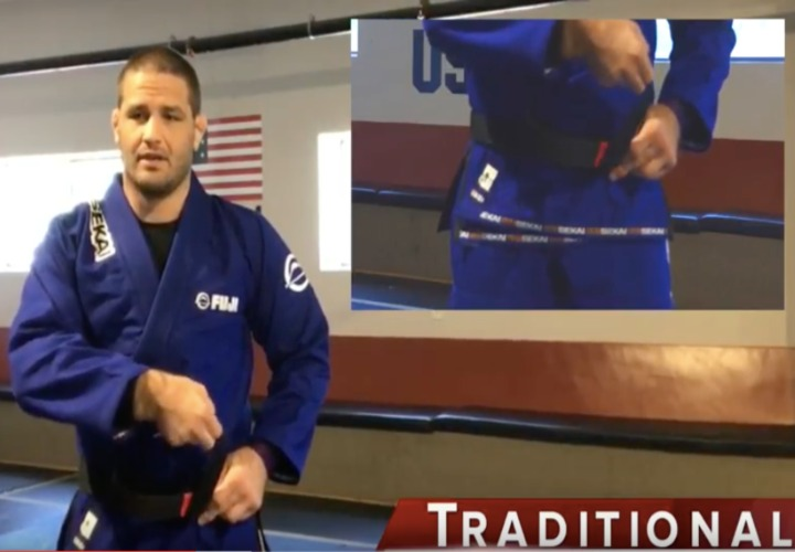 Travis Stevens Shows 5 Best Ways To Tie Your Belt