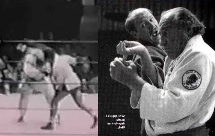 The story of First Televized MMA Match, a Judoka and a Boxer