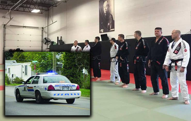 BJJ Black Belt Hal MacDonald helps Police officer Detain Suspect Following Scuffle