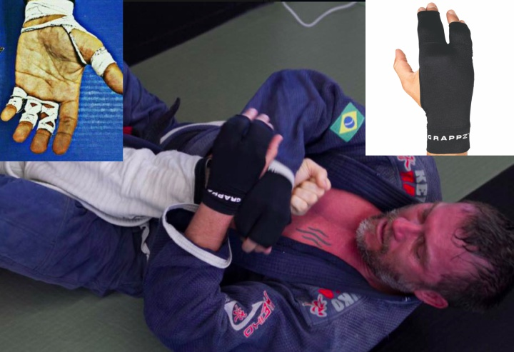 Never Tape Your Fingers Again? New Compression Glove For Grapplers