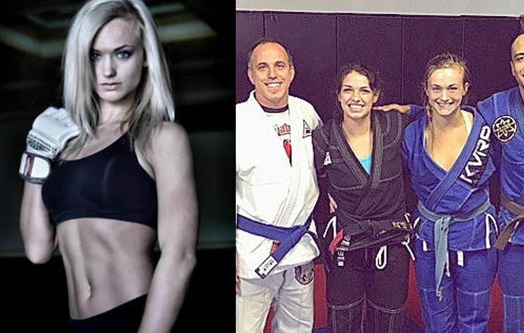 NFL Cheerleader Rachel Wray Fell In Love With BJJ