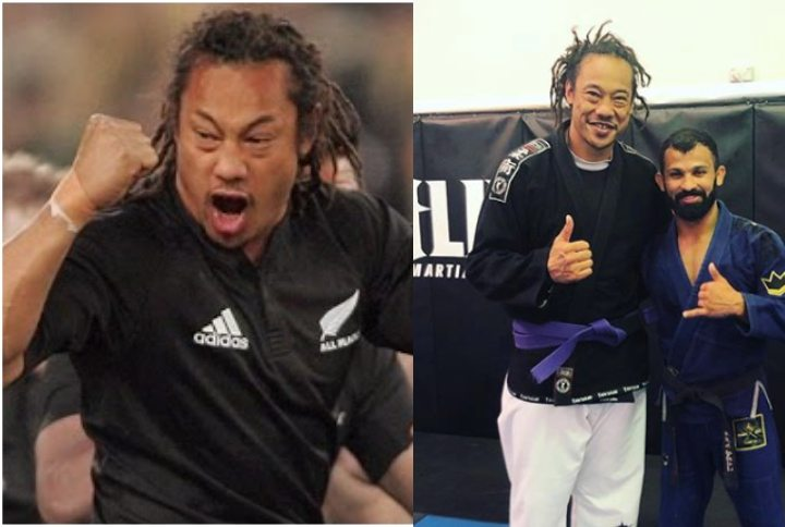 Rugby Great & All Black Captain Tana Umaga is a BJJ Purple Belt