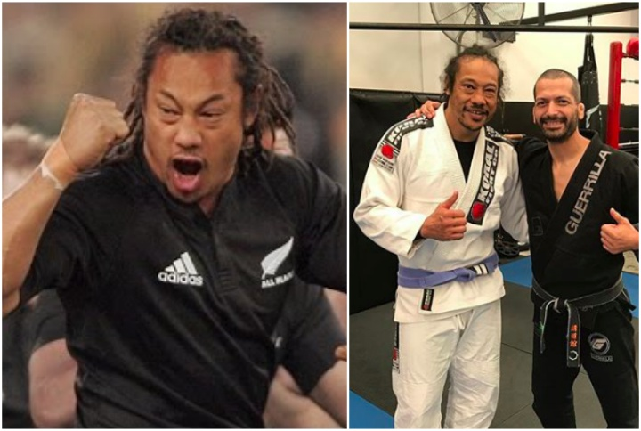 Rugby Great & All Black Captain Tana Umaga is a BJJ Blue Belt