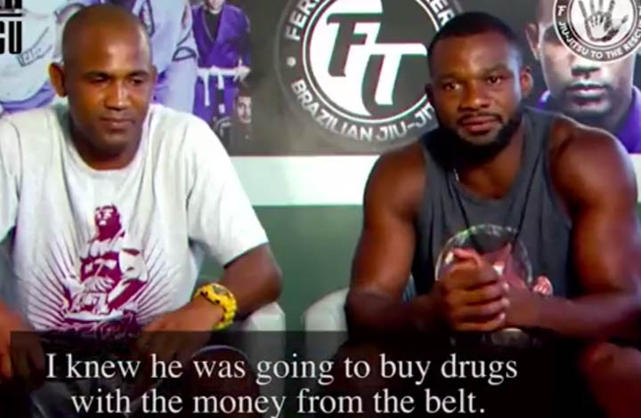 Terere and Finfou Talk About the Time Terere Tried To Sell His BJJ Belt To Buy Drugs