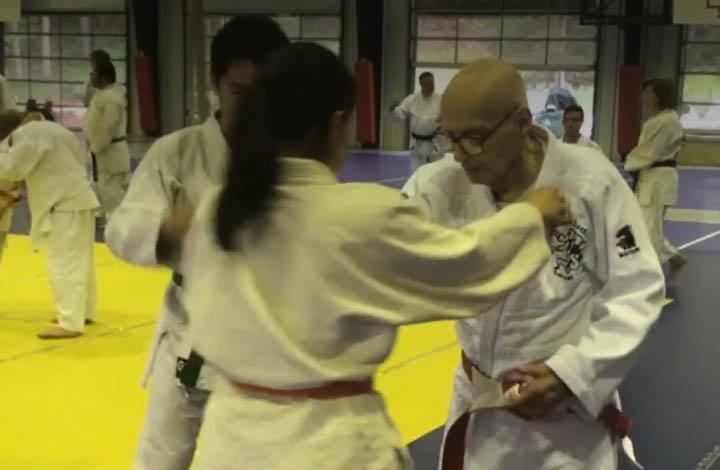 Judo Knows No Age Limits: 83-year-old man Randoris With 92-year-old