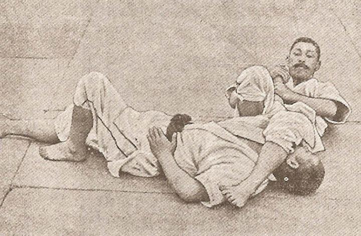 Jigoro Kano Was Initially Against Newaza – Until A Slender Man Leglocked The Kodokan man