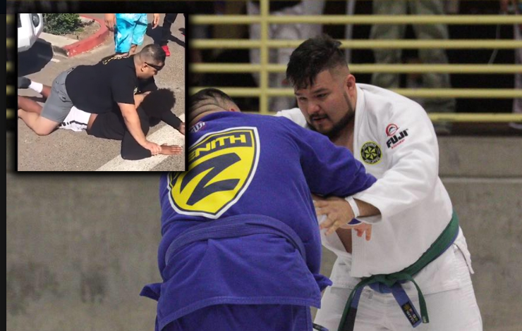 Blue Belt American National Champion Caught And Restrained A Robber
