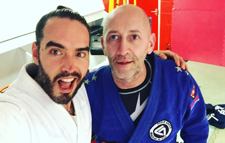 Russel Brand: BJJ Puts Me In My Body A Different Way