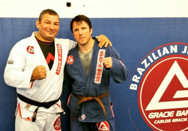 After 3 yrs at Purple Belt Chael Sonnen Promoted to Brown Belt in BJJ