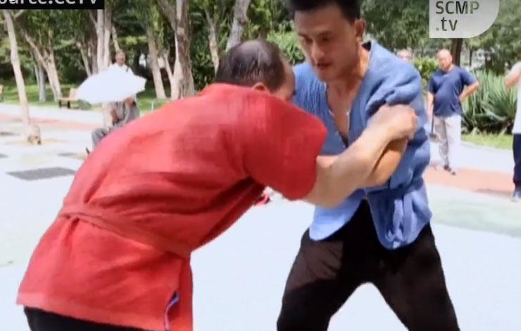 Street Grappling Trendy New Way Of Getting Fit In China