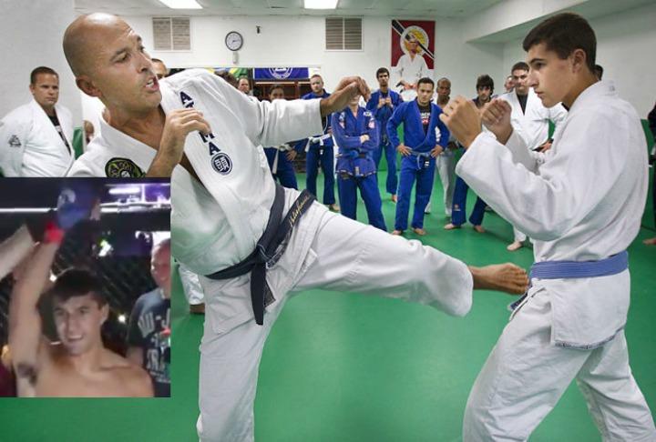 Royce Gracie's Son, Khonry Was Cut by Bellator