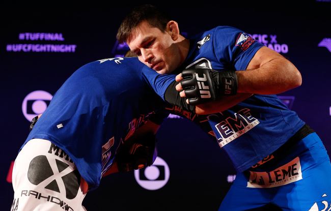 Demian Maia to Duke It Out With Anthony Rocco Martin