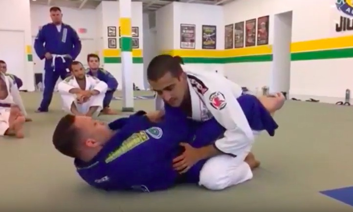 Renzo Gracie's Cross Choke-Armbar Trap from Closed Guard