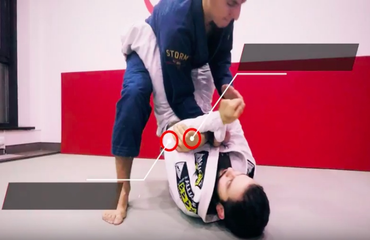 Wrist Lock Variation From Closed Guard