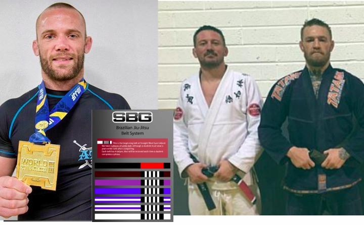 Josh Hinger Calls McGregor's BJJ Gym a McDojo For Giving Out Invented Belts