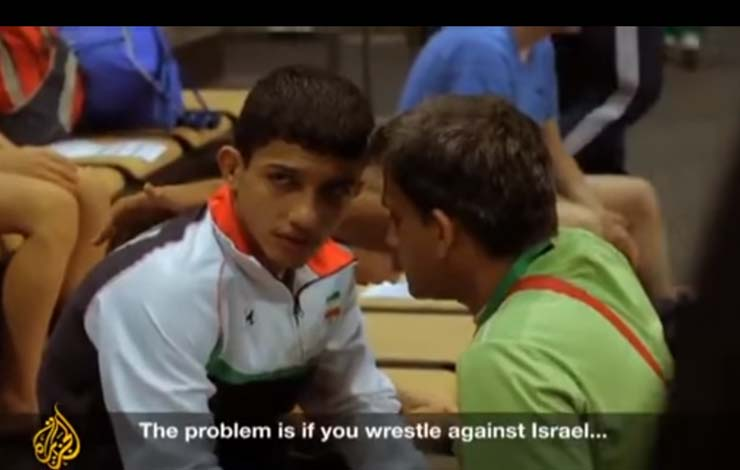 Iranian Wrestlers Refuse To Compete Against Israel