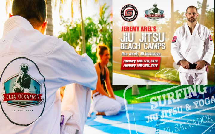BJJ & Surf Camp with Jeremy 'The Gerbil' Arel in El Salvador