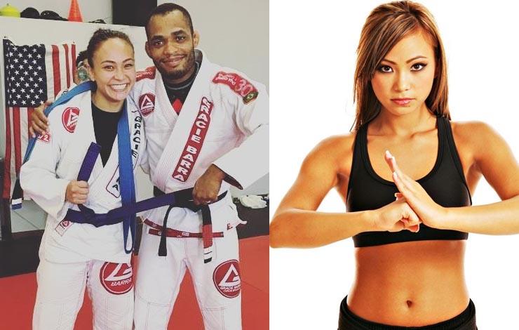 Karate Hottie Michelle Waterson Awarded Purple Belt in BJJ