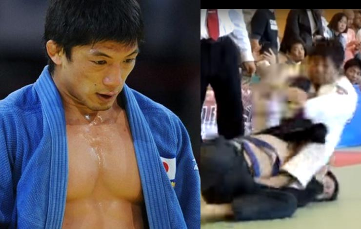 How a Disgraced Judo Olympic Champion Steamrolled An Entire BJJ Blue Belt Division