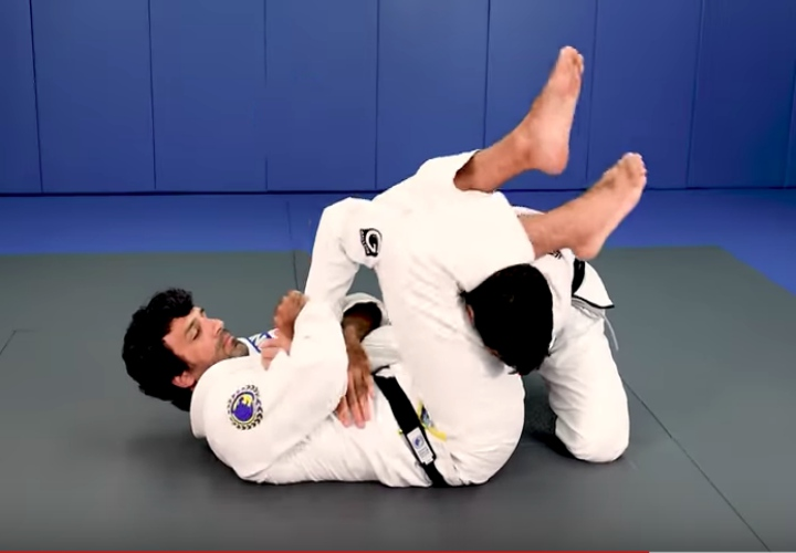 Surprise Them with the Armlock On The Opposite Arm- Rolles Gracie