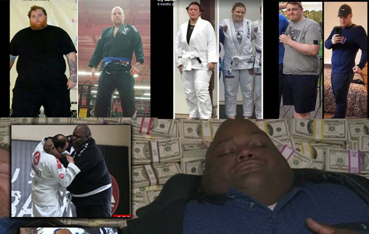 Collection Of Greatest Weight loss Pictures Of BJJ Practitioners