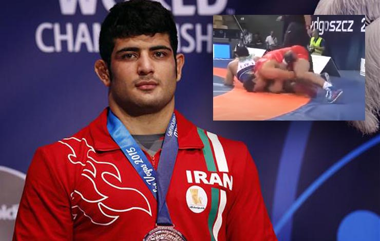 Wrestling Officials Investigating if Iranian Threw Match to Avoid Israeli