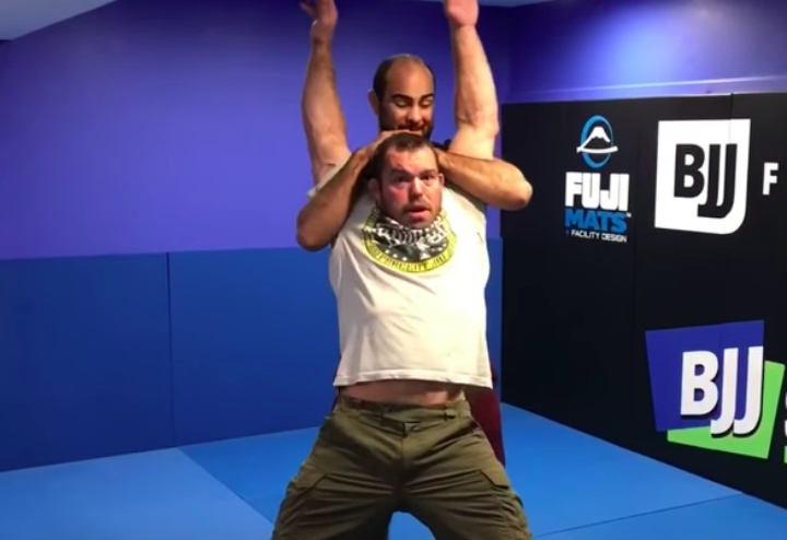 Self Defense: Learn How To Defend The Dreaded Full Nelson Using Jiu-Jitsu