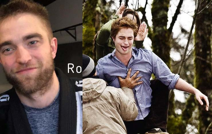 Rigan Machado Reveals Twilight Hunk Robert Pattinson is Doing Jiu Jitsu