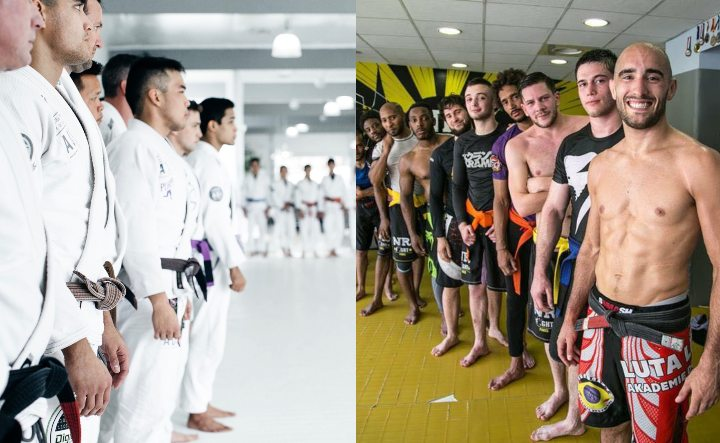 What Are The Main Stylistic Differences Between BJJ & Luta Livre