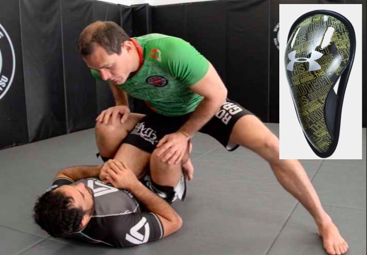Should I wear a cup when I roll in BJJ?