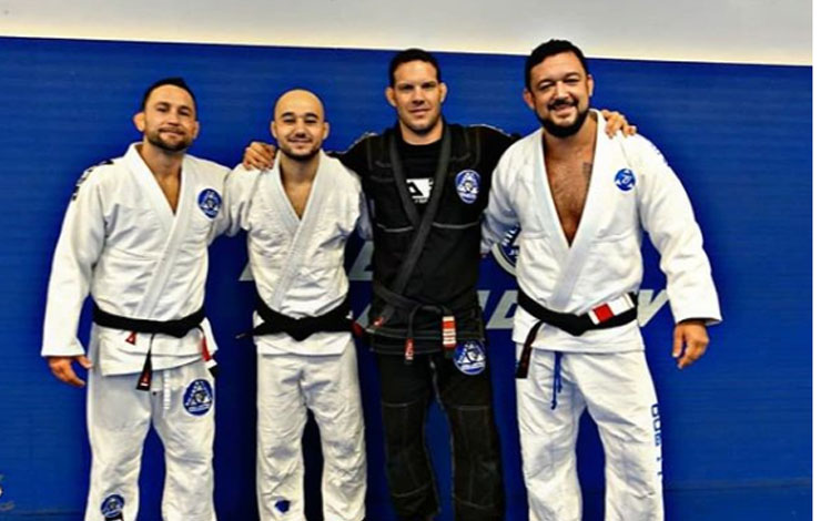 Frankie Edgar and Marlon Moraes receive BJJ Promotions from Ricardo Almeida along with Tom DeBlass