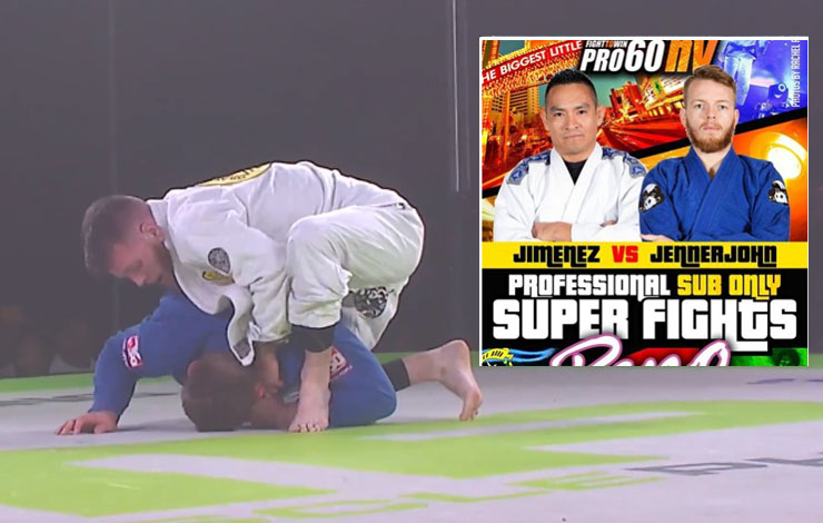 First Para Jiu-Jitsu Athlete Was  Featured On Fight To Win Card