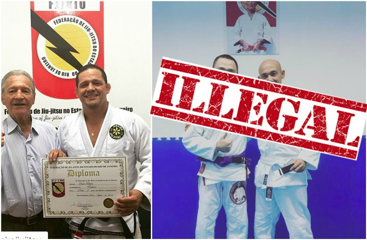BJJ Federation Bans Purple Belts From Teaching