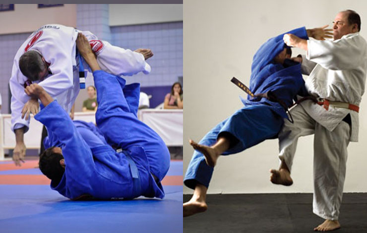 How Are Judo Throws Different From Judo Sweeps? And How Does BJJ Sweep Differ From It?