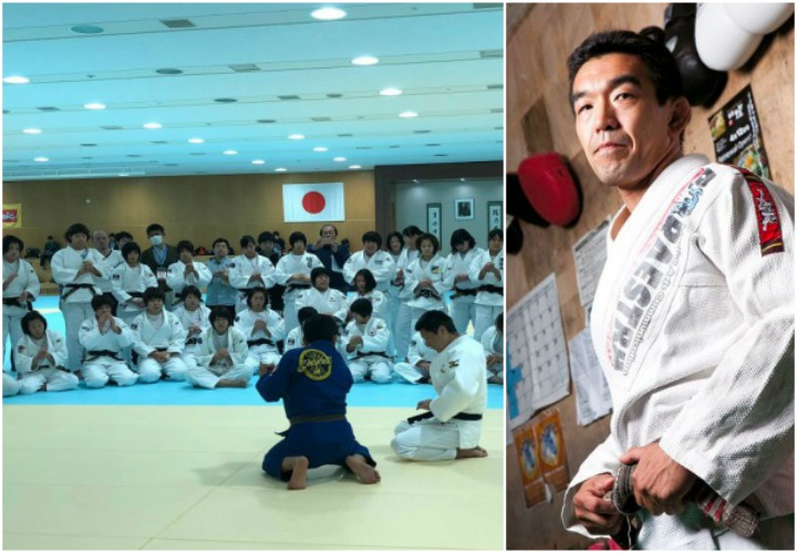 Japan's BJJ Pioneer Yuki Nakai Trains Japanese National Judo Team