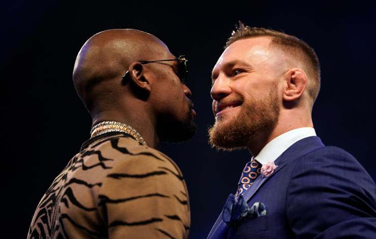 Mayweather and McGregor Tease MMA Match Possibility Again