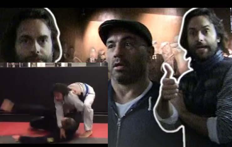 Comedian Chris D'Elia is a Blue Belt Spotted Working on BJJ In Toronto