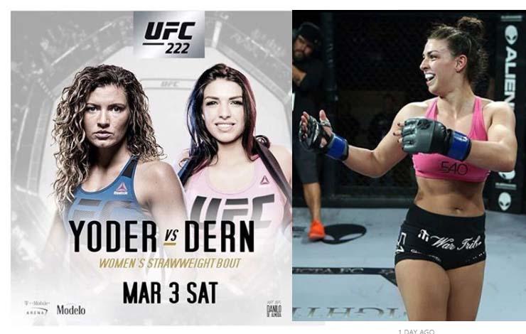 Mackenzie Dern's UFC debut will headline Portion of UFC 222 fight card