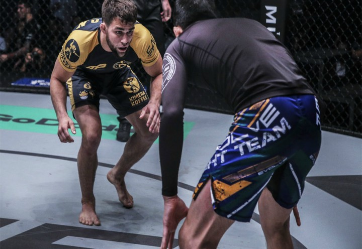 Garry Tonon Defends Takedowns By Mimicking an Airplane