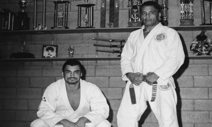 Kron Gracie On The Last Time He Rolled w/ His Dad Rickson Gracie in Jiu-jitsu