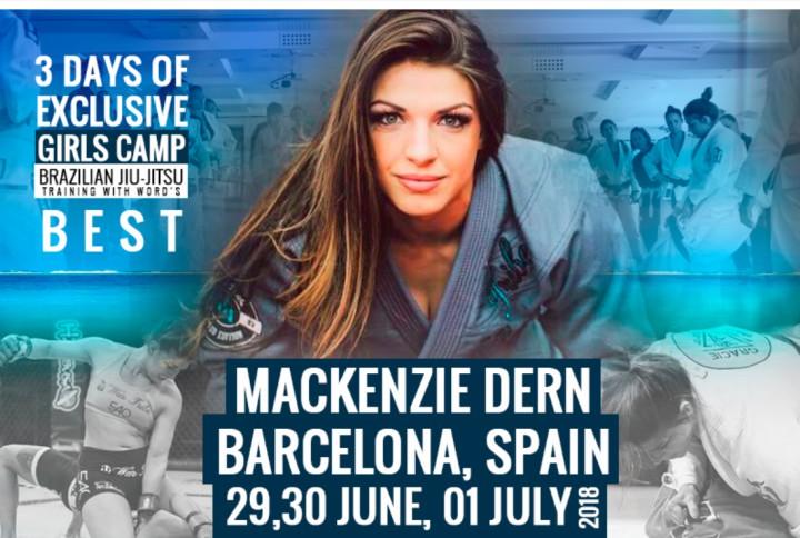 BJJ Girls Camp With Mackenzie Dern, Barcelona June 29-July 1