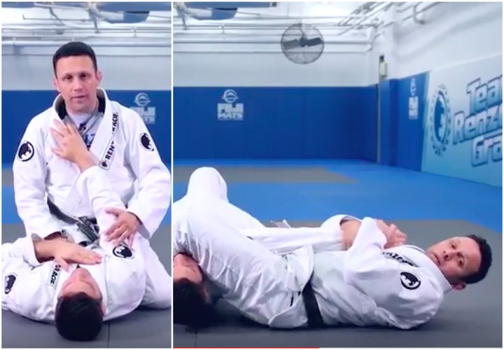 Renzo Gracie's Drill Will Give You The Smoothest Armbar Ever