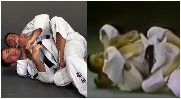 Berimbolo' Used in Kosen Judo Way Back in 1950's