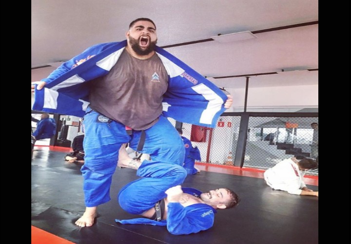 Heavyweights, This is How You Should Train To Improve in BJJ