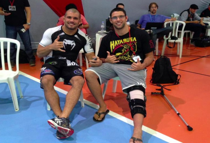 Can You Still Train BJJ With A Knee Injury?