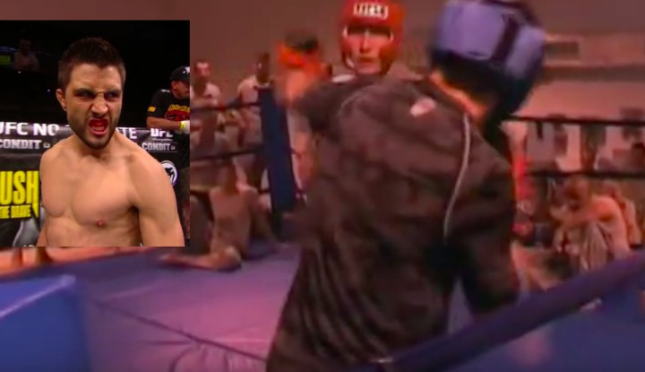 Carlos Condit KO's US Special Forces Soldier Who Sucker Punched Him