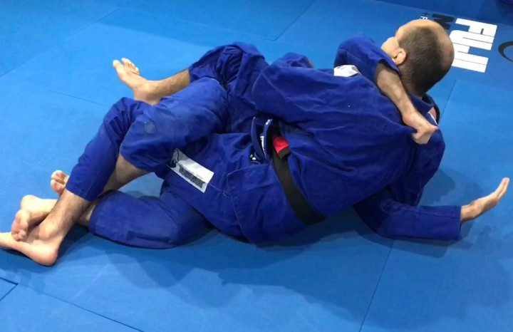 The Reverse Half Guard Version 2.0 Will Confuse, Trap & sweep Your Opponent